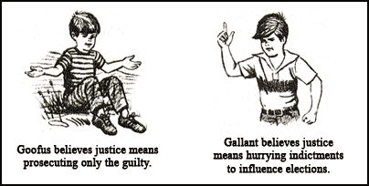 Goofus and Gallant: A DOJ Human Resources Primer