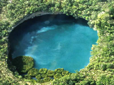 The World's Deepest Water-Filled Sinkhole - El Zacatón Cenote