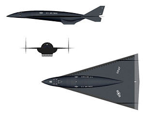 SR-91 Aurora aircraft