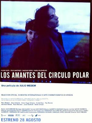 Os Amantes do C�rculo Polar, de Julio Medem