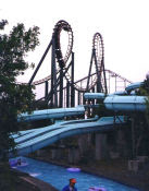 Anaconda Roller Coaster - Kings Dominion - Loops
