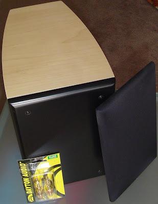 Dayton 0 25 Ft³ Pre Made Curved Maple Diy Speaker Cabinets