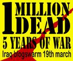 Blogswarm Iraq War 5 Years