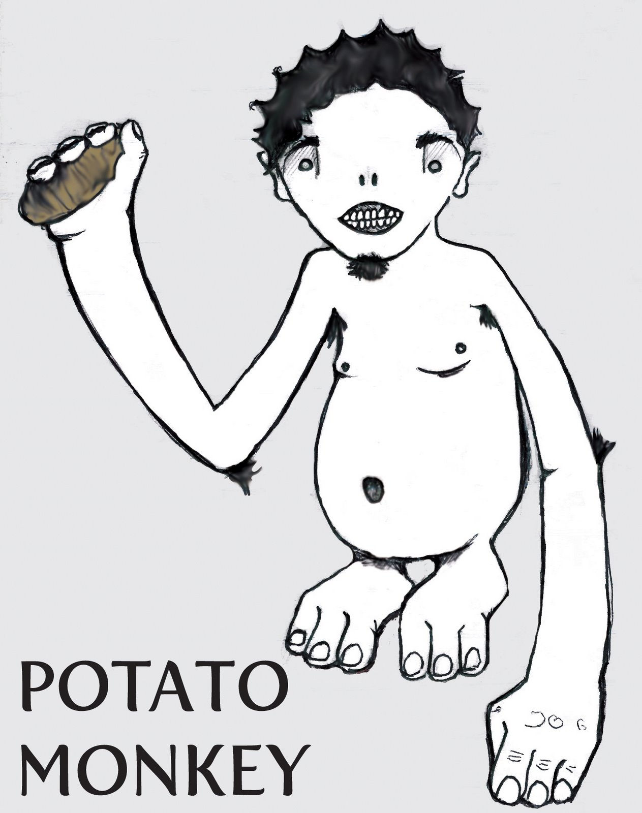 Potato Monkey