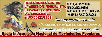 Conmemorando el 27 y 28 de Febrero Dia de Rebelion Popular