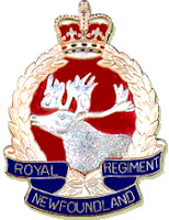 Royal Newfoundland Regiment Crest