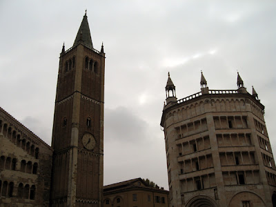 Towers of the Duomo and Baptistry