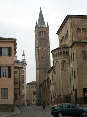 Looking towards the Duomo