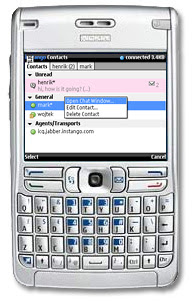Why send SMS when you can chat on mobile instant messenger ?