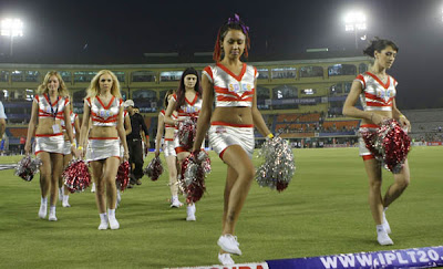 IPL Mohali Kings XI Punjab Cheerleaders Photos 2009