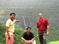 view of kataldhar waterfall from rajmachi