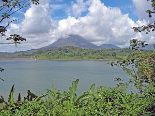 Erica Ridley in Costa Rica: Lake Arenal and Volcano Tenorio