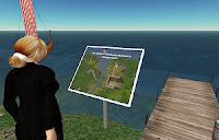 På besøg i Second Life