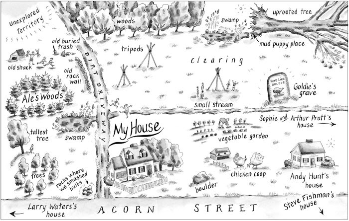 Art, Words, Life: Monday Map: Marshfield Dreams