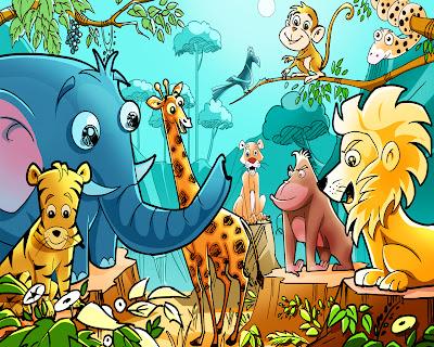Children's African Animals wallpaper, New planet in constellation Cancer,