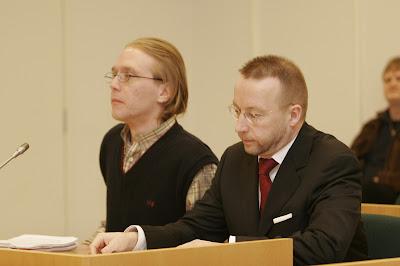 Mikko Ellilä oikeudessa mielipiderikoksesta tuomittavana