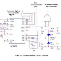 Dtmf Decoder Ic Mt8870 Pin Diagram Nest 3rd Generation Wiring Design With Microcontrollers Caller Id Using