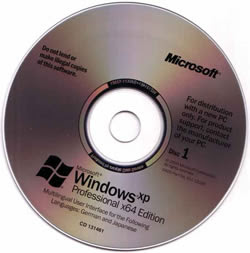Windows XP 64 Bits Full SP2 (IE7 e MP11)