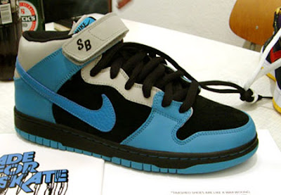 sale retailer 67905 38ef6 Nike Dunk SB Mid – Light Blue/White   SoleDiction