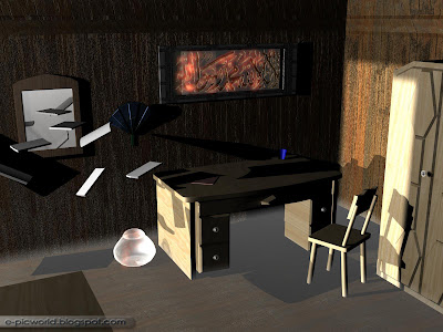 3D Realism with Calligraphy wallpaper 2