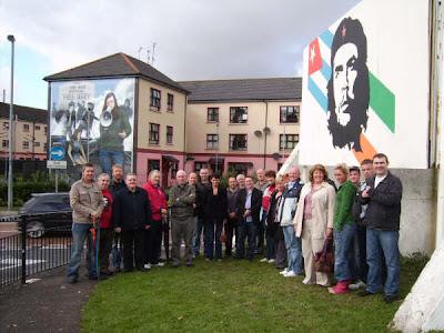 Presentación del mural de homenaje la Che Guevara