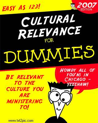 Cultural Relevance for Dummies