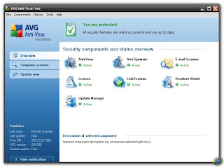 AVG Anti-Virus Free Edition 8.0 by Grisoft