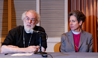 Archbishop Rowan Williams & Presiding Bishop Katherine Jefferts courtesy ELO/Matthew Davies