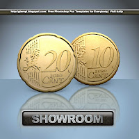 show room showroom lighting effects photoshop psd template download edit modify copy new button