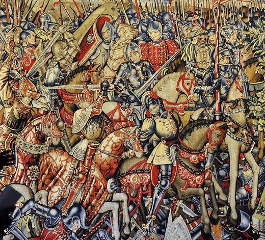 Batalha de Pharsalos vista com olhos medievais