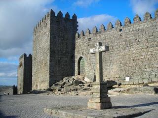 Castelo de Trancoso, que fica no interior da cidade amuralhada