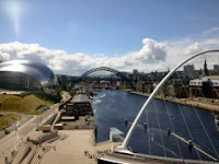 The Tyne from the Baltic centre