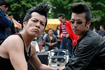 Japanese Rock-a-billy hair gone wild!