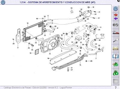 Imagenes de Manuales de Despiece de Autos Chevrolet, Fiat