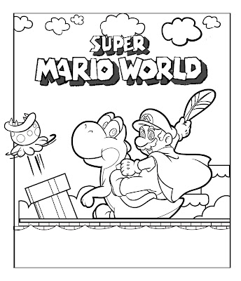 jimbo's Coloring Pages: Super Mario Coloring Pages