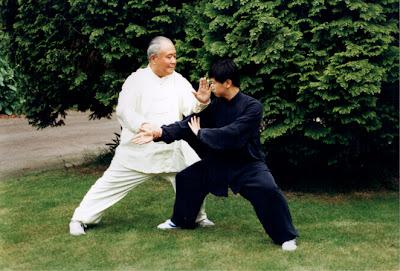 Yang Zhenduo y Yang Jun
