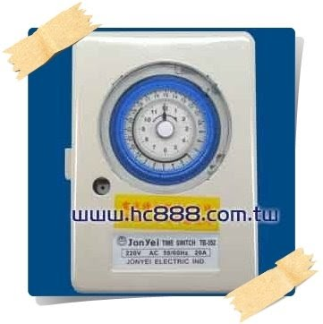 JonYei 定時器 TB-352 | 宏騏 水電 材料 五金 維修