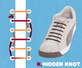 k-amazing style shoe knot