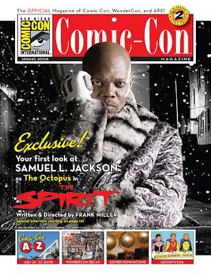 The Spirit Samuel L Jackson The Octopus