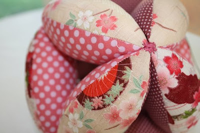 Fabric Baby Grab Ball Pattern  Sewing Patterns for Baby