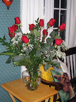 Roses from Molly and David
