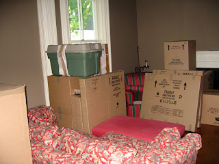 Boxes, everywhere boxes
