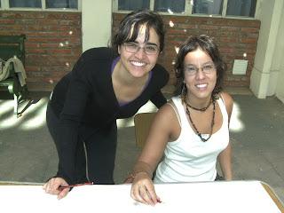 Dos artistas en la muestra