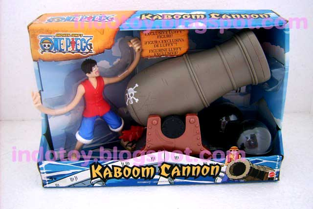 one piece luffy kaboom canon action figure