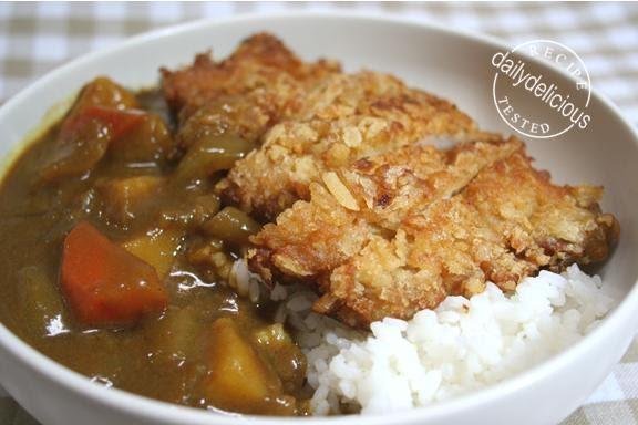 dailydelicious Tonkatsu Curry Rice
