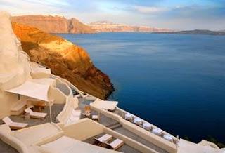 Luxury hotel en Santorini, Grecia
