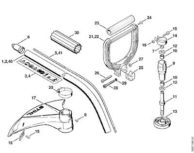 Fs55r Parts Diagram Stihl Parts Diagram Wiring Diagram
