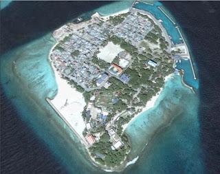 Google Earth Map Of Maldives
