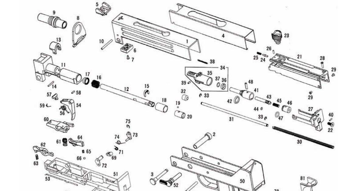 Airsoft Sub Machine Gun Mods & Reviews: M11A1 Diagram for