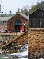 Columbia Water plant Riverfront Park entrance